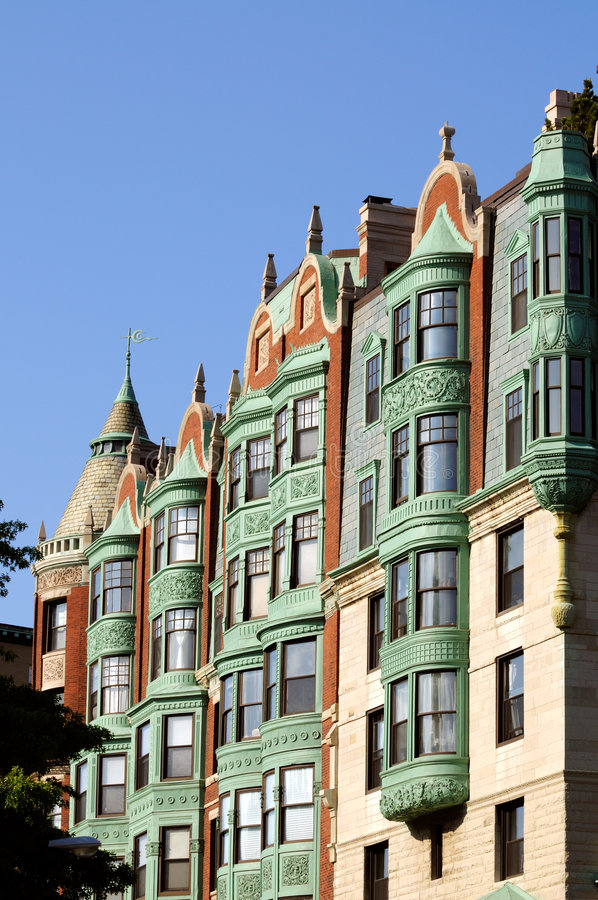 Esterno del palazzo di Boston fotografie stock