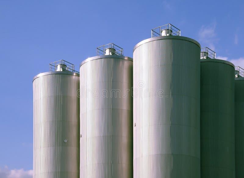 Esterno della fabbrica di birra fotografia stock libera da diritti