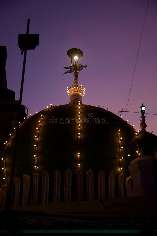 Esterno della moschea di Minara, Mumbai immagini stock