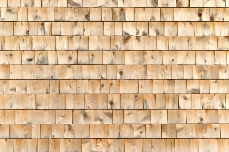 Esterno della parete dell'assicella del cedro fotografie stock libere da diritti