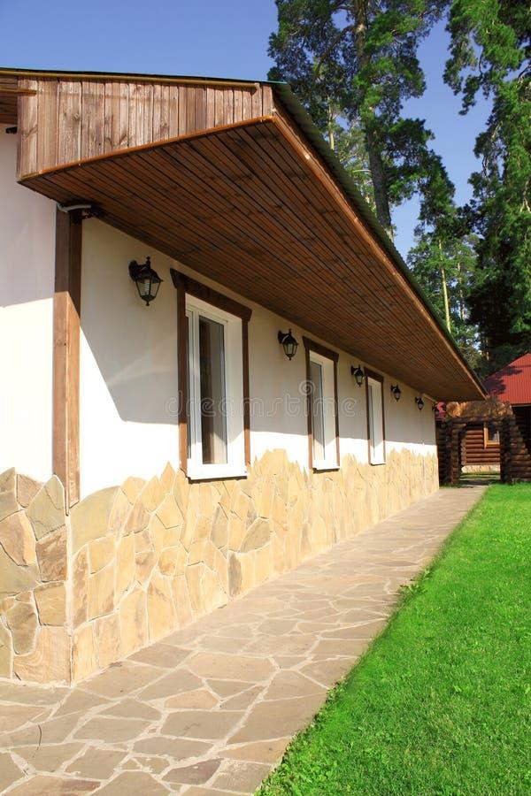 esterno di una casa di campagna immagine stock immagine
