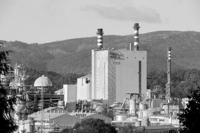 Esterno industriale della fabbrica fotografia stock libera da diritti