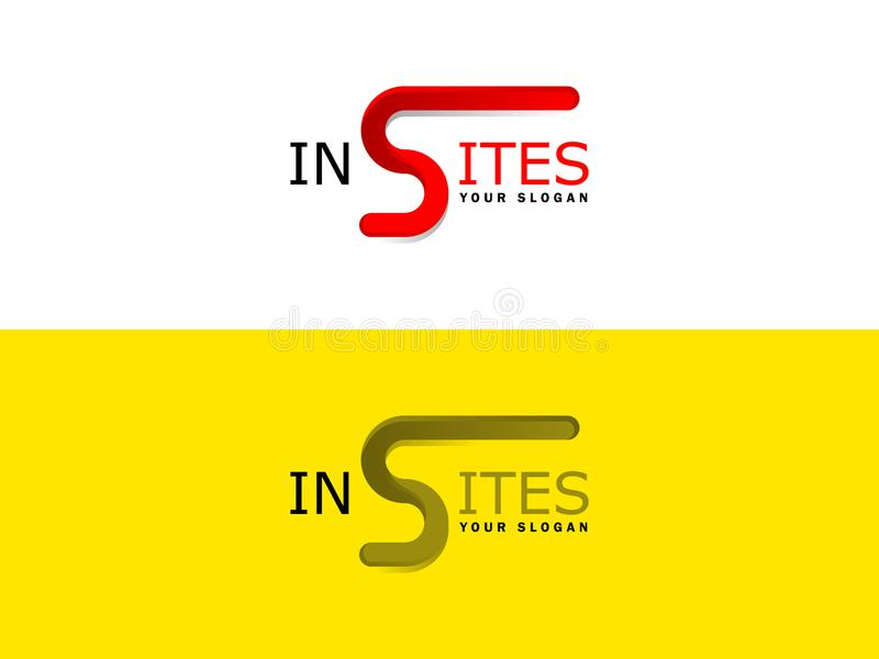 Estes último del logotipo de S ilustración del vector