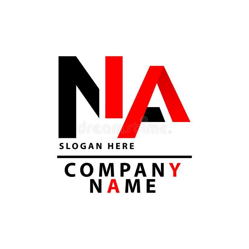 Estes último del logotipo del NA stock de ilustración