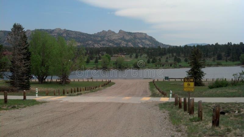 Estes Park Co images libres de droits