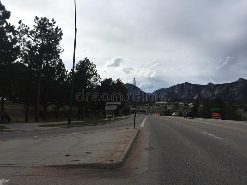 Estes Park Colorado royaltyfria bilder