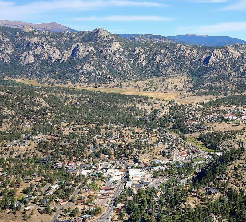 Estes Park en Colorado fotos de archivo libres de regalías