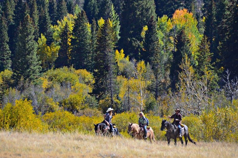 Estes Park y Rocky Mountains, Colorado imagenes de archivo