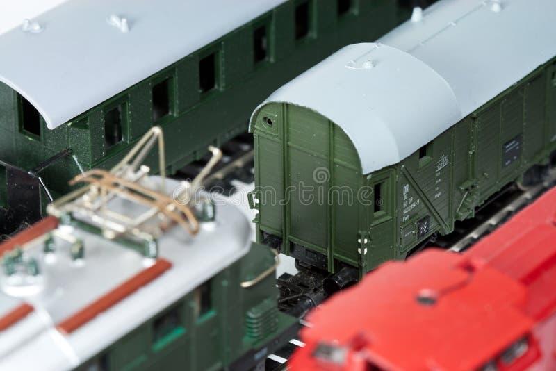 Modele trens imagem de stock royalty free