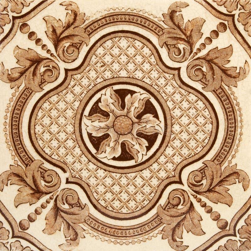 estetisk tegelplatta royaltyfria bilder