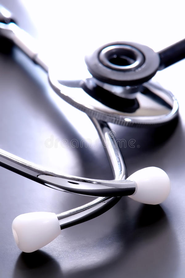Estetoscopio médico imágenes de archivo libres de regalías