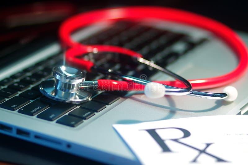 Estetoscopio médico fotos de archivo