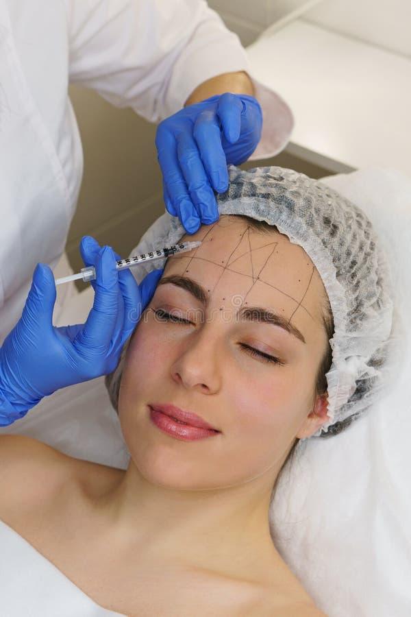 Estetyczna kosmetologia Zdroju salon obrazy royalty free