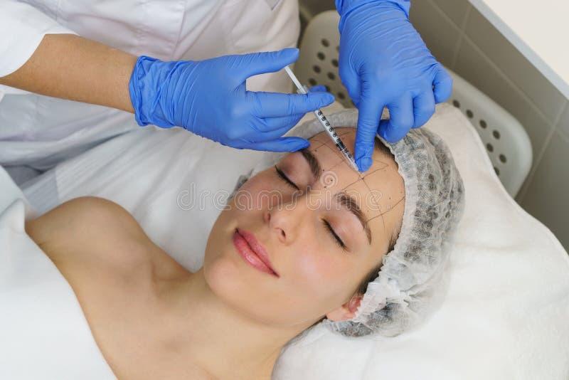 Estetyczna kosmetologia Zdroju salon fotografia royalty free