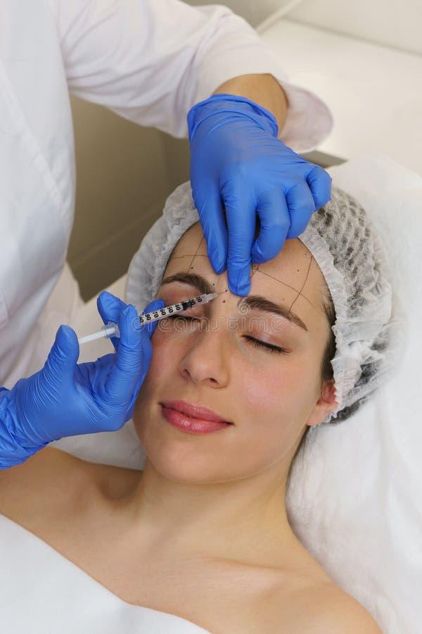 Estetyczna kosmetologia Zdroju salon fotografia stock