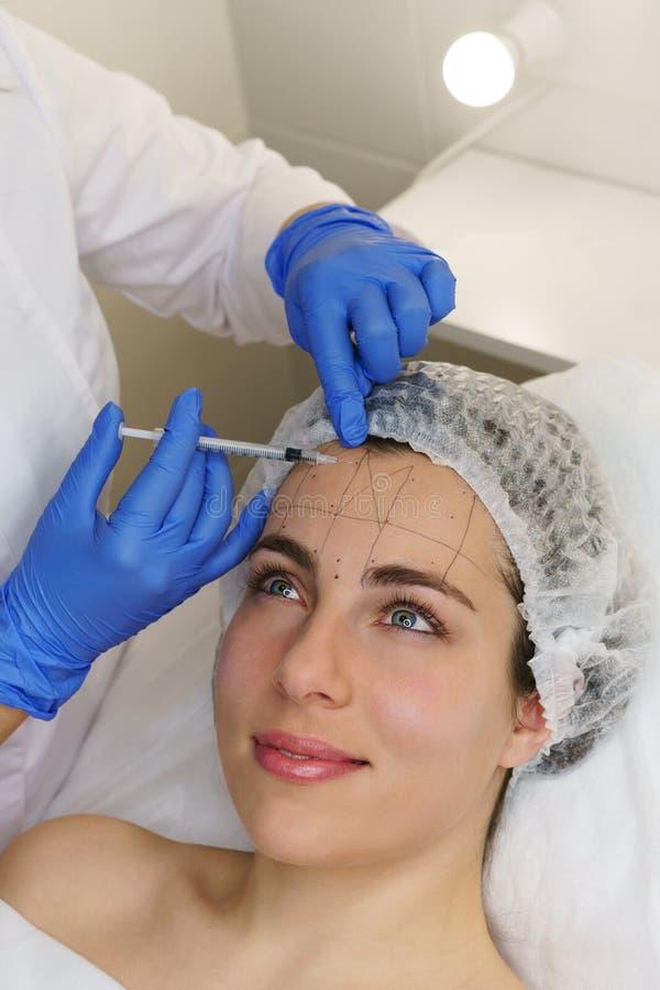 Estetyczna kosmetologia Zdroju salon zdjęcie royalty free