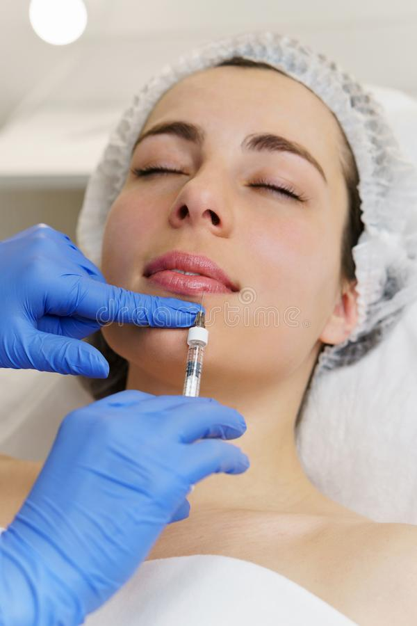 Estetyczna kosmetologia Zdroju salon obraz royalty free