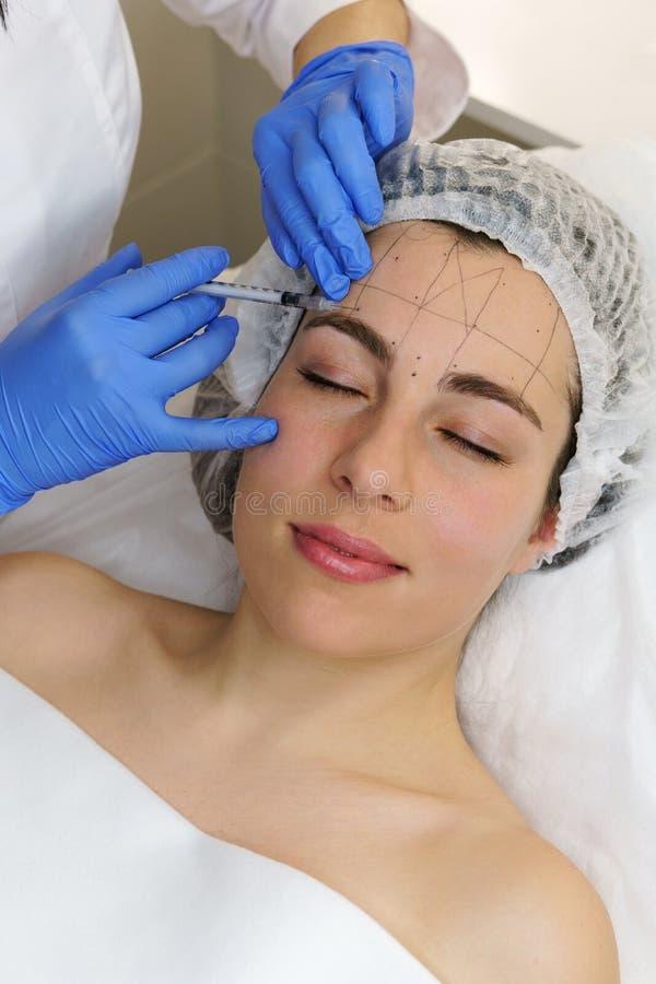 Estetyczna kosmetologia Zdroju salon zdjęcie stock