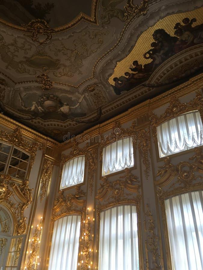 estetyka pałac erem fotografia stock