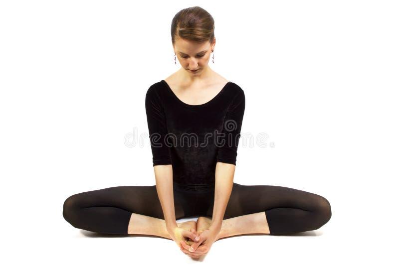 Esticão da ioga imagem de stock