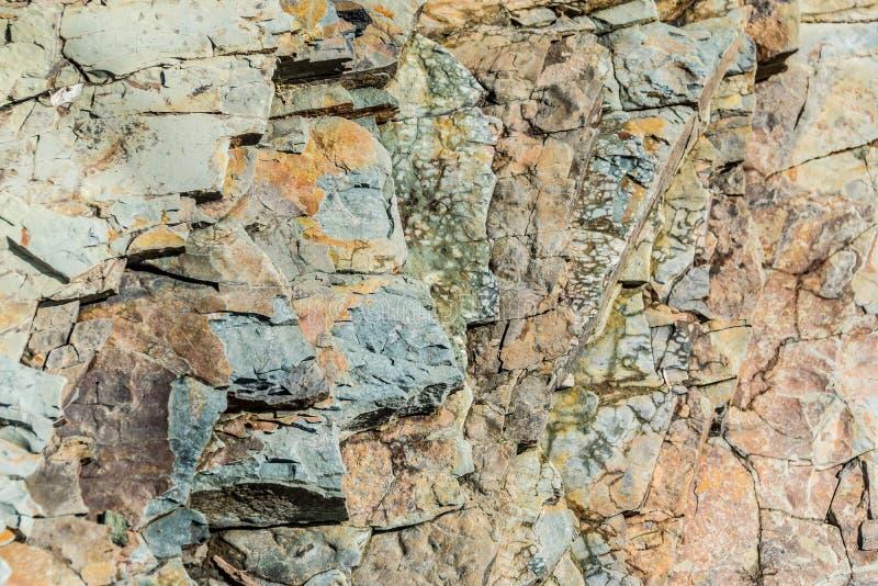 Estilha?os de pedras mergulhadas Textura natural imagens de stock royalty free