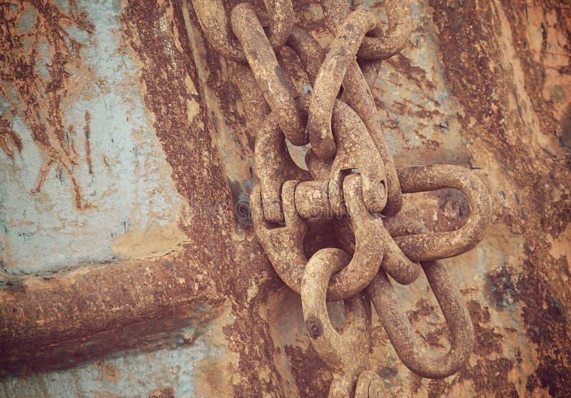 estilingue oxidado do ferro imagem de stock royalty free