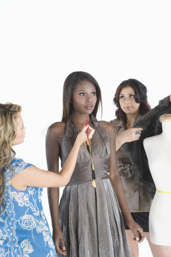 Estilistas modelo de And Two Fashion fotos de archivo libres de regalías