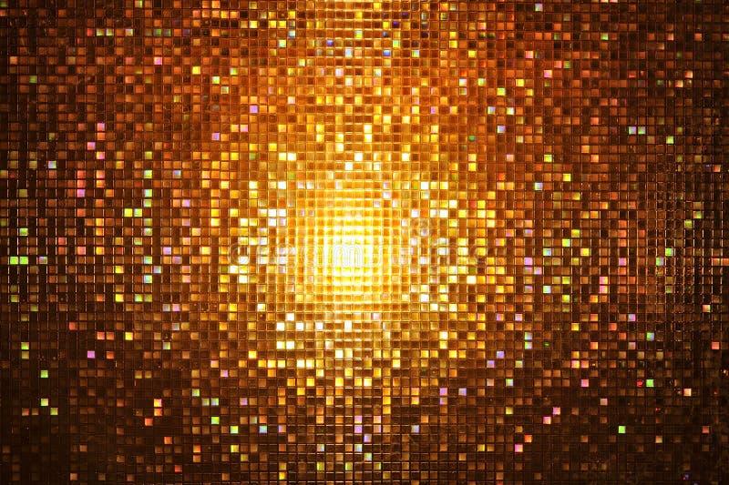 Estilo abstrato da noite do mosaico foto de stock royalty free