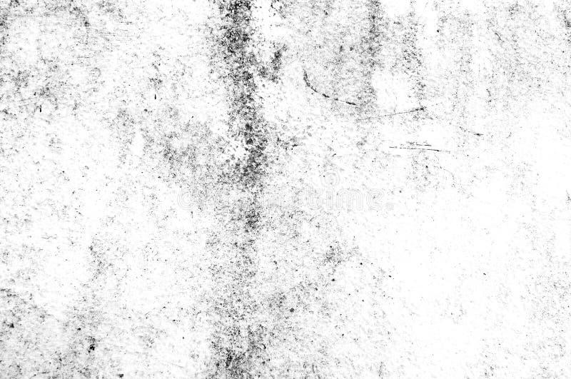 Estilo abstrato preto e branco do grunge da textura Textura abstrata do vintage da superfície velha Teste padrão e textura das qu ilustração royalty free