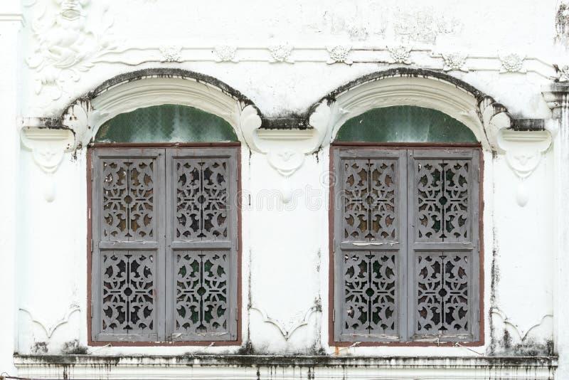 Estilo antigo Windows foto de stock royalty free