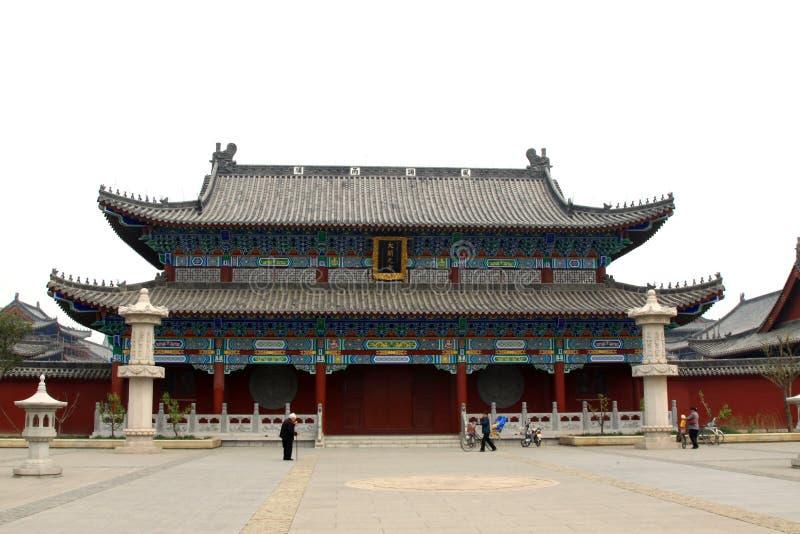 Estilo arquitectónico tradicional chino antiguo fotos de archivo
