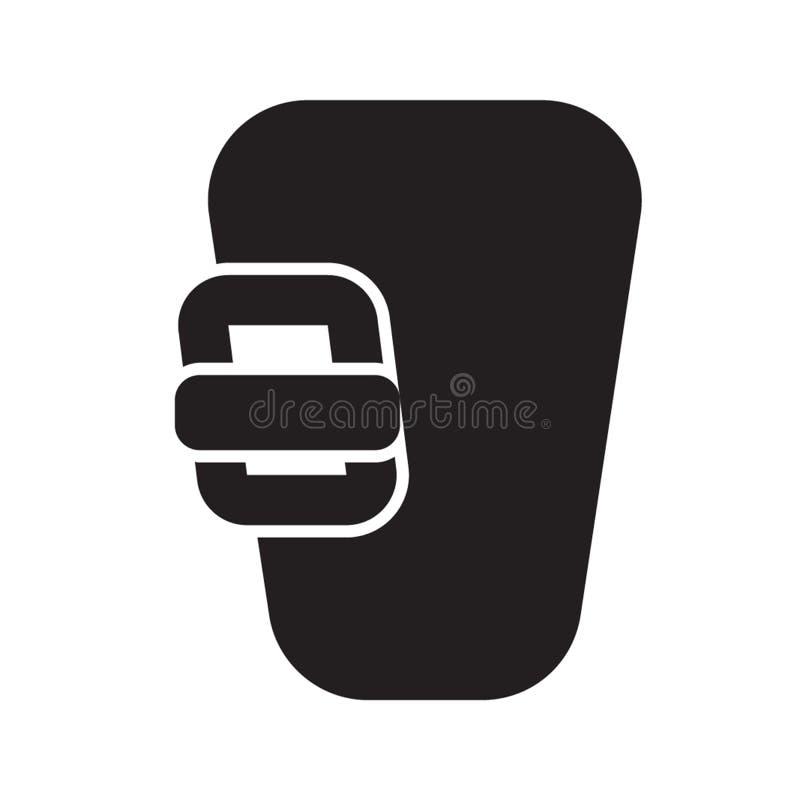 Estilo contínuo do ícone da porta do parafuso para todas suas necessidades do projeto ilustração do vetor