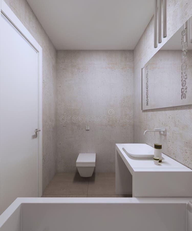 Estilo contemporáneo del cuarto de baño libre illustration