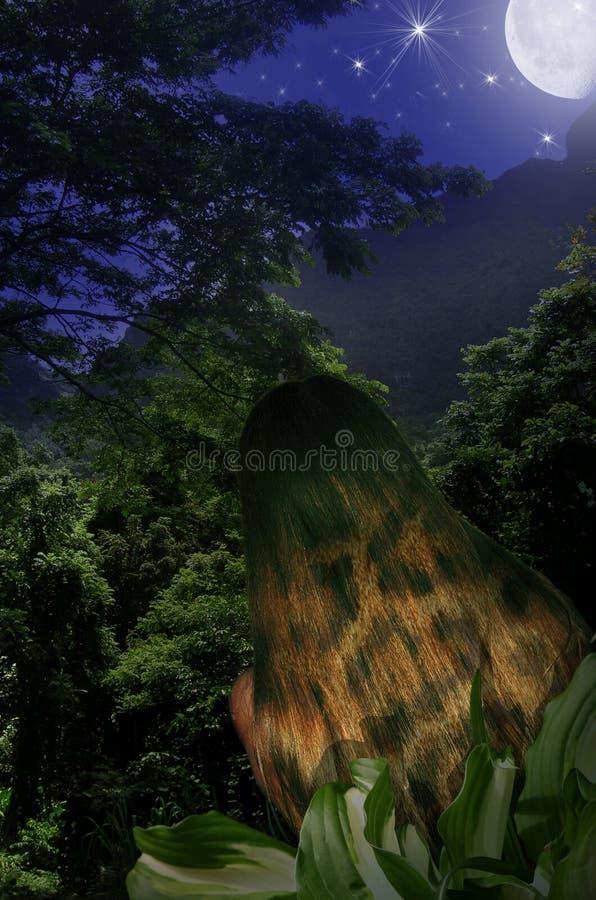 Estilo da selva ilustração do vetor