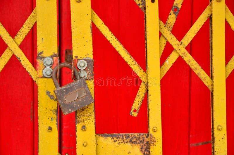 Estilo de chino de la cerca del apilador cerrado fotografía de archivo libre de regalías