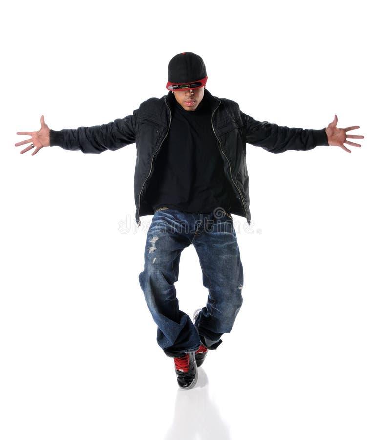 Download Estilo De Hip Hop Del Baile Del Hombre Joven Imagen de archivo - Imagen de música, sombrero: 8381813