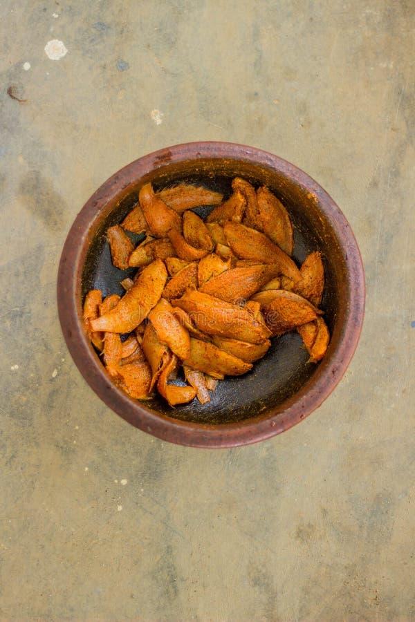 Estilo de kerala do peixe frito - fotografia do alimento foto de stock
