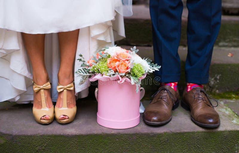 Estilo de la boda foto de archivo libre de regalías