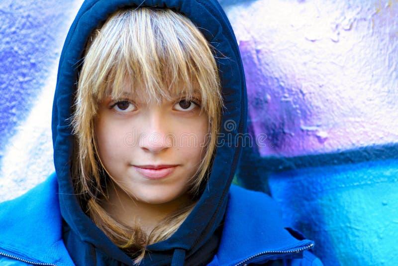 Estilo de la calle de la juventud imagen de archivo
