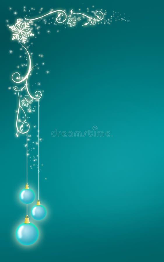 Estilo de la Navidad del diseño de la tarjeta de felicitación stock de ilustración