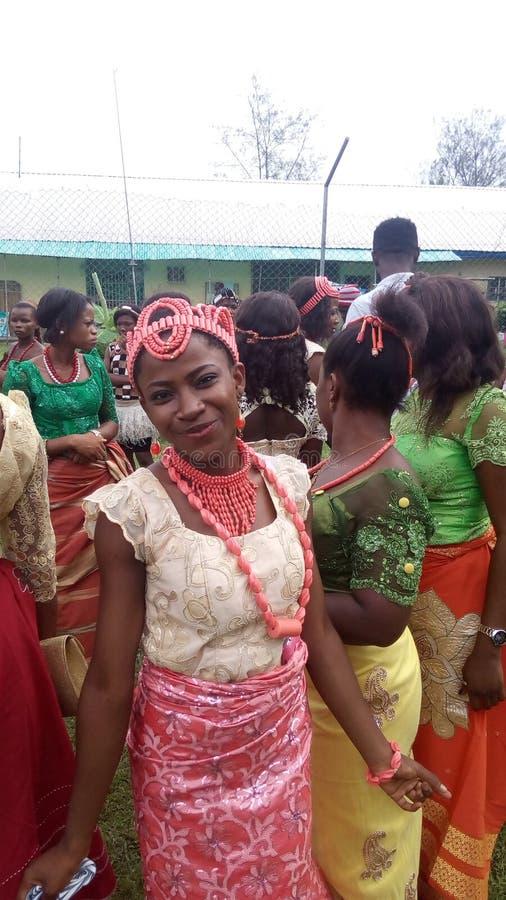 Estilo de Nigeria fotos de archivo libres de regalías