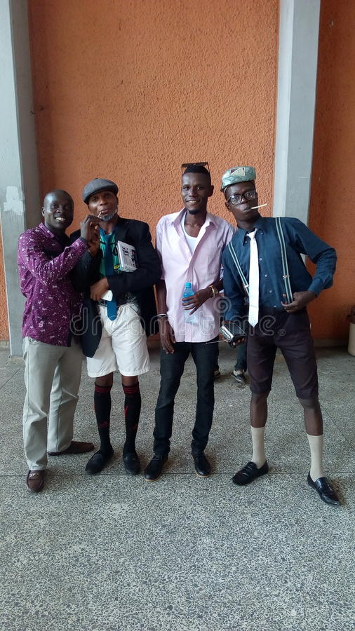 Estilo de Nigeria foto de archivo libre de regalías