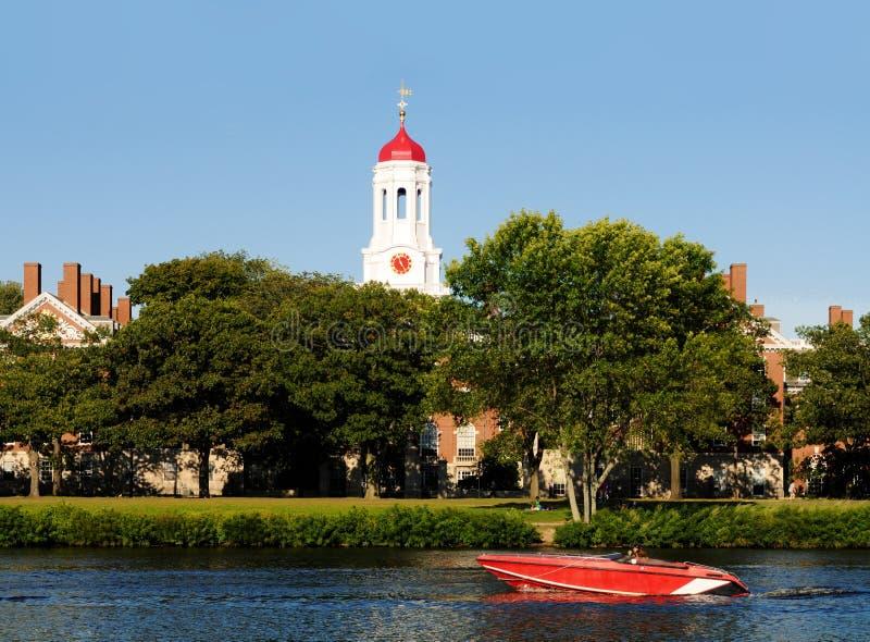 Estilo de vida de Harvard Univerity imagem de stock royalty free