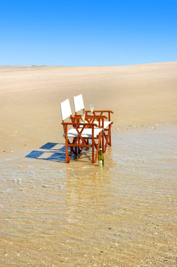 Estilo de vida tropical da praia imagem de stock