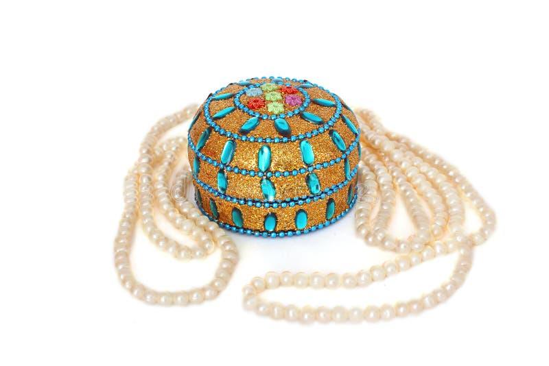 Estilo del Doodle Perlas Gotas de la perla belleza imagen de archivo