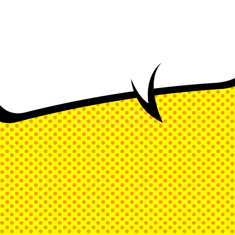 Estilo del Estallido-arte de la burbuja del discurso libre illustration