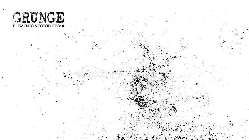 Estilo del Grunge de las párticulas de polvo fondo y textura Vector ilustración del vector