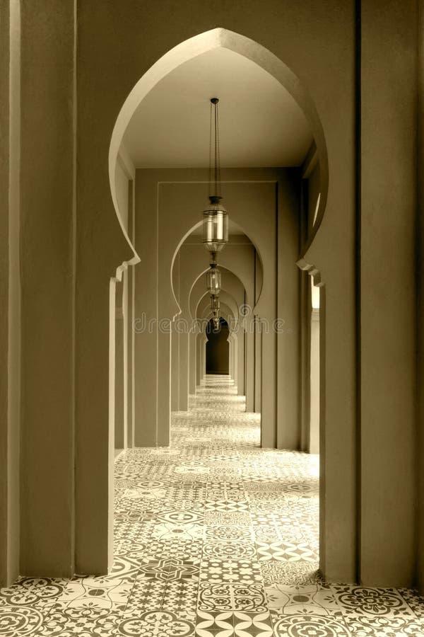 Estilo del marroquí de la calzada imagen de archivo libre de regalías