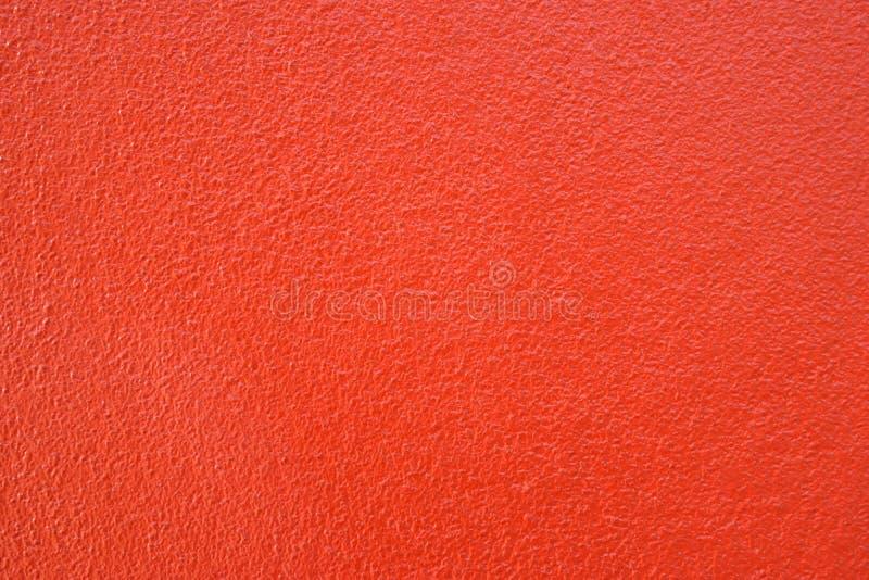 Estilo del vintage del tono del cemento del fondo rojo caliente de la pared y emp limpios fotografía de archivo libre de regalías