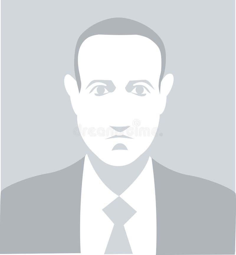 Estilo do ícone do retrato do vetor de Mark Zuckerberg